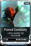 Continuité Primé