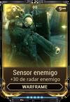Sensor enemigo
