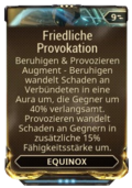 Mod Augment Friedliche Provokation