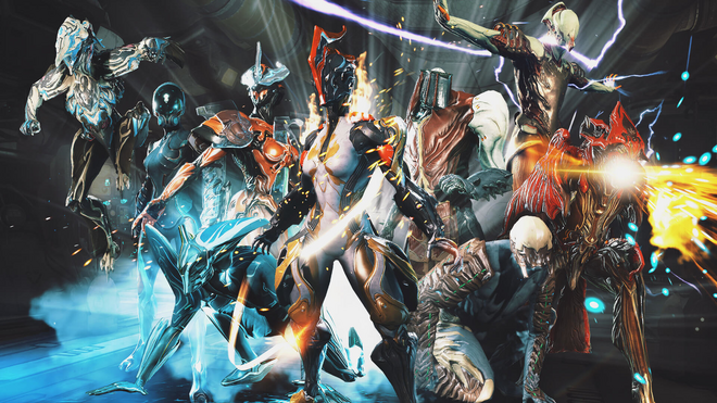 WarframeGroupShot
