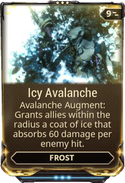 Icy Avalanche Warframe Wiki Fandom Powered By Wikia