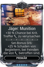 Jäger: Munition