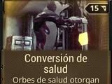 Conversión de salud