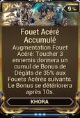 Fouet Acéré Accumulé