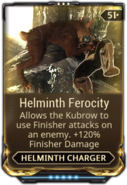Helminth Ferocity