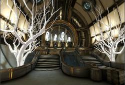 Сцена Башня Орокин - зона эвакуации вики