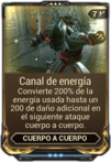 Canal de energía