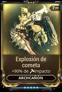 Explosión de cometa