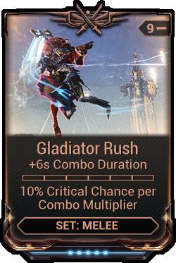 gladiator mods warframe how to get
