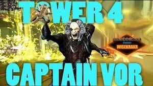 Warframe TOWER 4 DEFENSE Killing Captain Vor Update 13.7