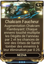 Chakram Faucheur