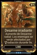 Desarme irradiante