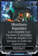 Munitions Aiguisées