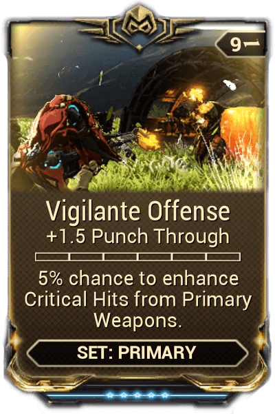 vigilante mods warframe
