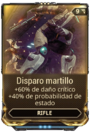 Disparo martillo