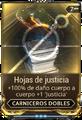 Hojas de justicia