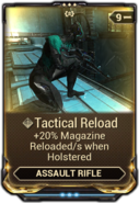 Tactical Reload