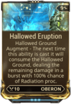 Hallowed Eruption