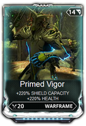 Primed Vigor