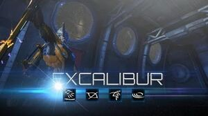 Warframe Excalibur
