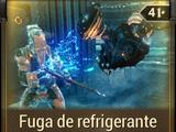 Fuga de refrigerante