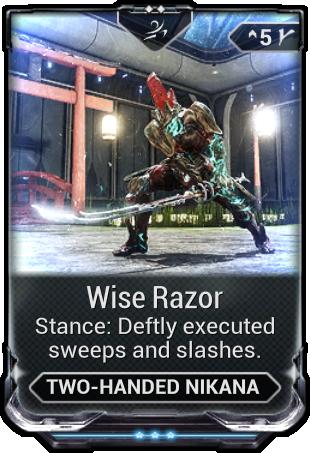 Wise Razor | WARFRAME Wiki | FANDOM powered by Wikia