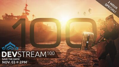 Devstream 100 banner