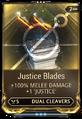 JusticeBlades