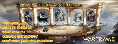 BARNNER NEW DE DIOSES DEL OLIMPUS