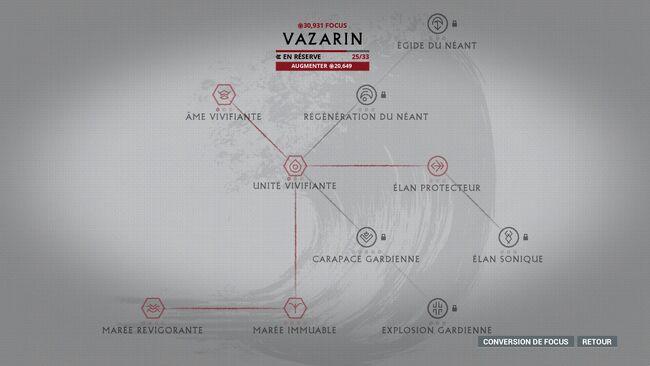 Focus arbreVazarin