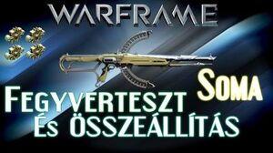 Warframe Beta - Soma (HD)(HUN)