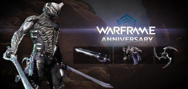 Warframe 2nd Anniversary