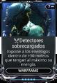Detectores sobrecargados