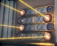 Orokin laser trap mobile