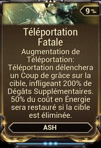 Téléportation Fatale