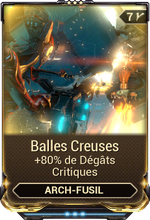 Balles Creuses
