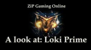 A look at Warframe Loki Prime