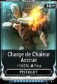 Charge de Chaleur Accrue