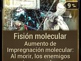 Fisión molecular