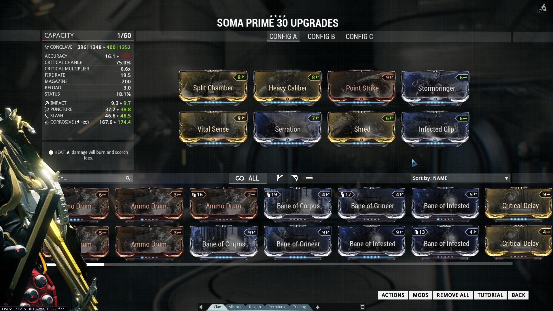 Warframe Frost Prime Defense Build