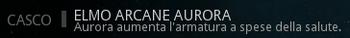 Descrizione Elmo Arcane