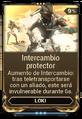 Intercambio protector