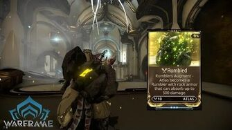 Warframe Conclave Mod Rumbled