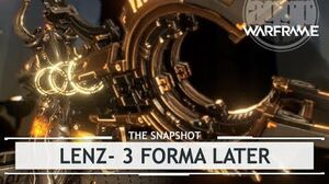 Warframe Lenz, Small Mag With a Massive Load - 3 Forma Build thesnapshot