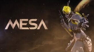Warframe Profile - Mesa