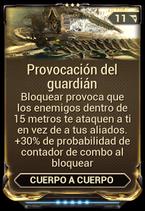 Provocación del guardián