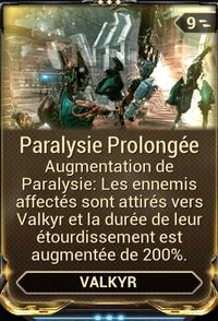 Paralysie Prolongée
