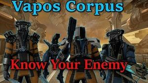 Warframe Vapos Corpus (Know Your Enemy)