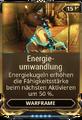 Mod Warframe Energieumwandlung