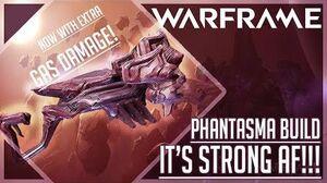 """""""2nd BEST SHOTGUN"""" Phantasma Build Guide Warframe"""
